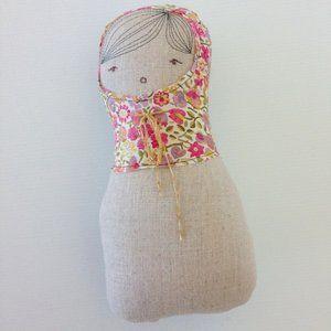 H Luv Cotton Matryoshka Girl Plush Doll Baby Gift